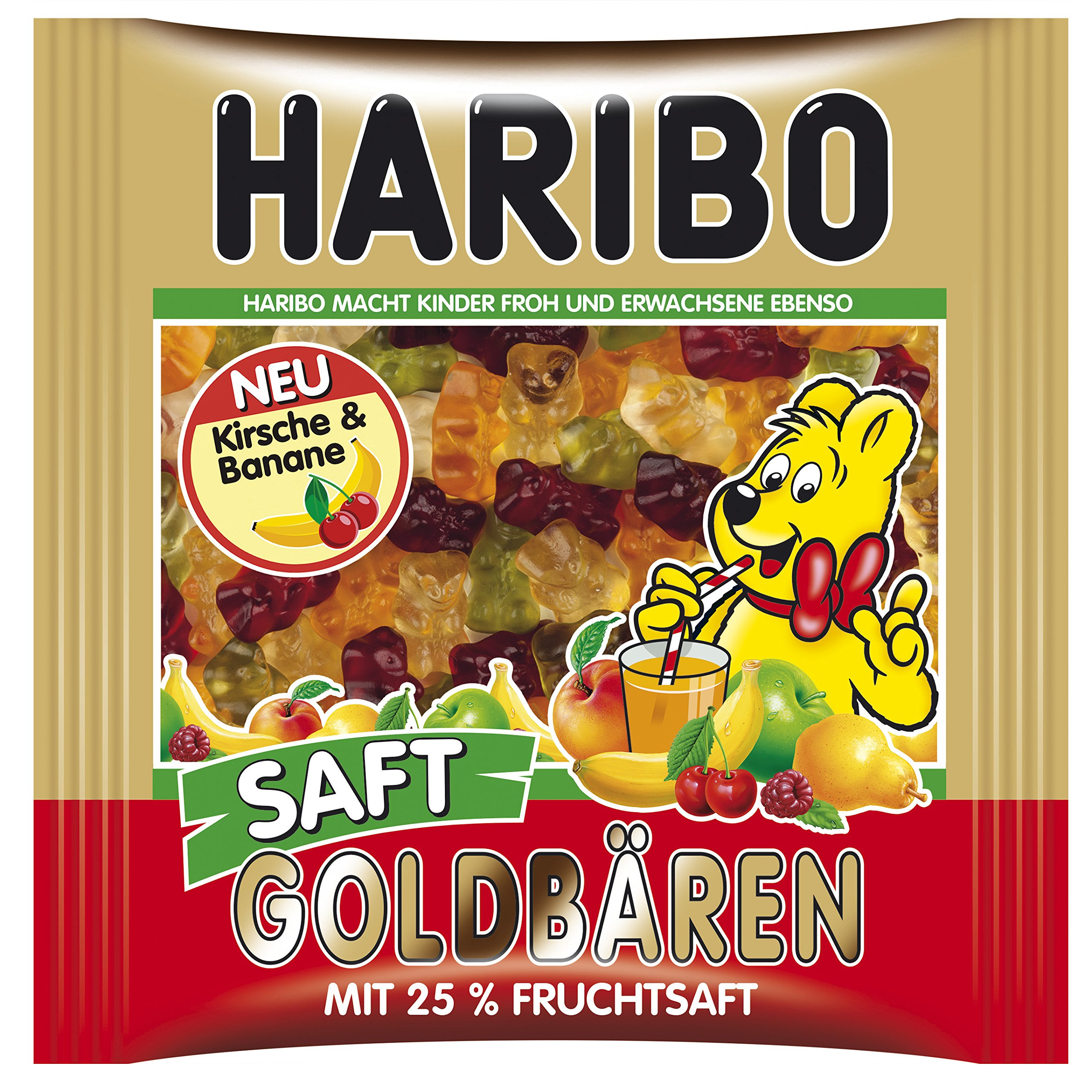 Haribo gummy bears are just one of many products that thomas - Haribo Juicy Gold Bears 450g 15 87 Ounce In Resealable Bag