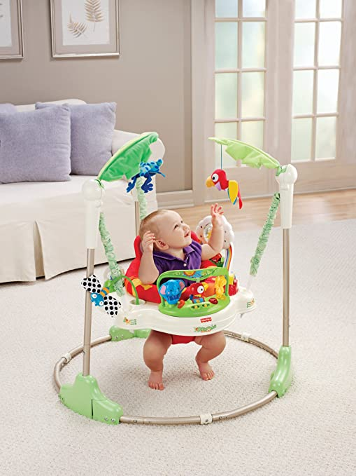 Fisher-Price Rainforest Jumperoo - My Mom's Best