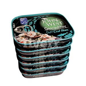 John West Cod Soft Roes (100g) - Pack of 6