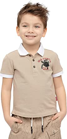 GULLIVER Polo de Manga Corta para Niño