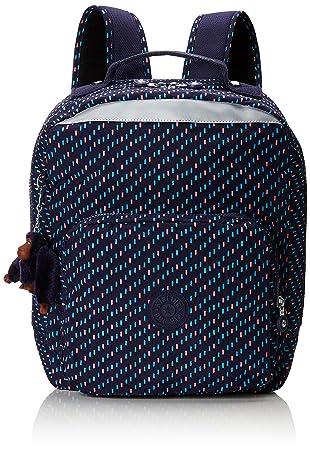 Kipling Ava Mochila escolar, 36 cm, 17.5 liters, Varios colores (Blue Dash C): Amazon.es: Equipaje