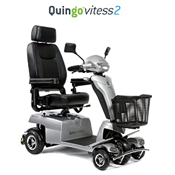 Quingo Vitess 2 Mobility Scooter with 5 Wheel Anti-Tip Stability System; Most Luxurious
