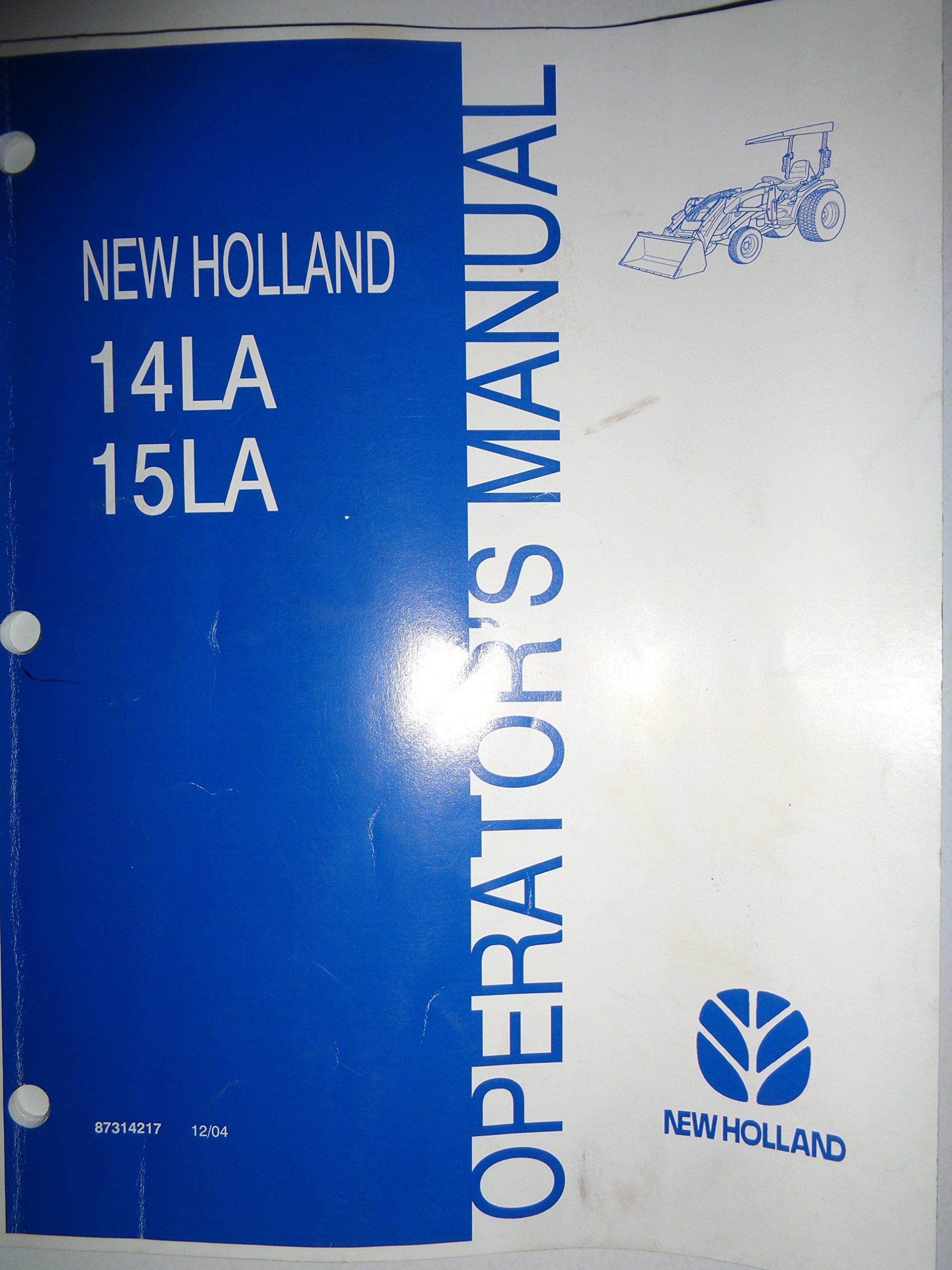 new holland 14la 15la loader for tc29da tc33da tractors operators rh amazon com
