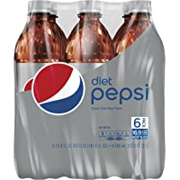 Diet Pepsi Bottle, 16.9 Fl Oz, 6 Count