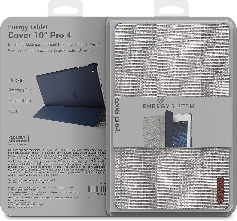 Energy Sistem Pro 4 - Funda para Tablet, Color Azul y Gris: Amazon ...