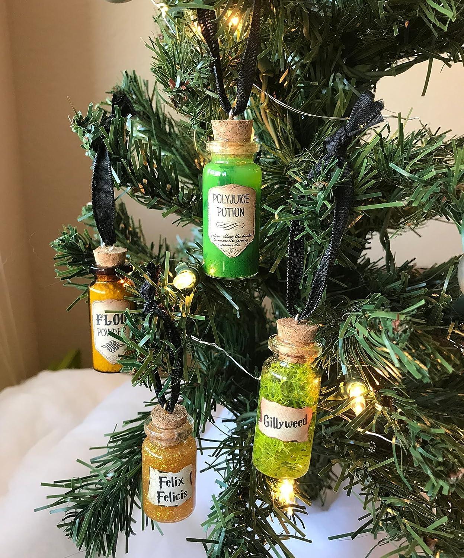 Harry Potter Christmas.Harry Potter Christmas Ornament Set Decoration Set Of Four