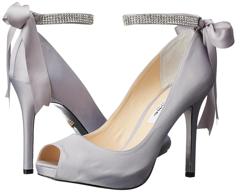 Nina damen damen damen 's Karen-LS Dress Pump LS-Royal Silber 11 m US bf2644