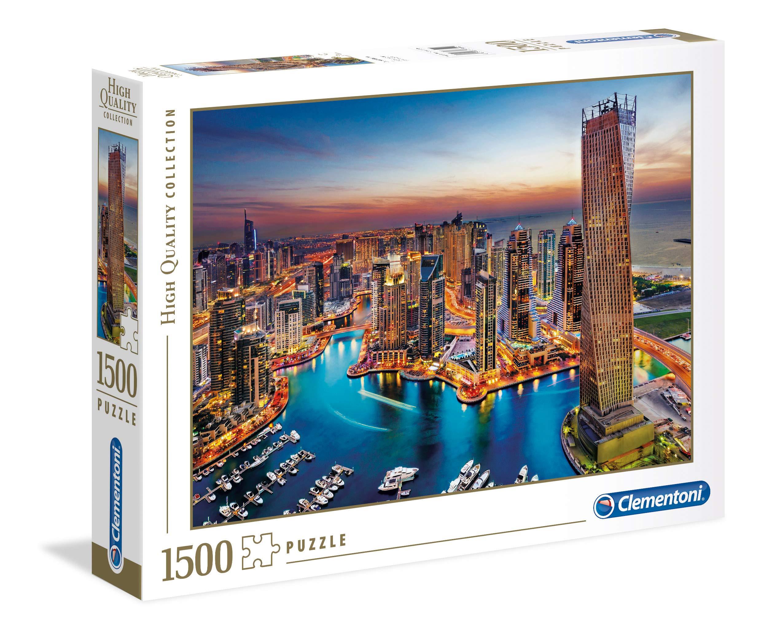 Clementoni 31814 HQC 1500pc Puzzle-Dubai Marina