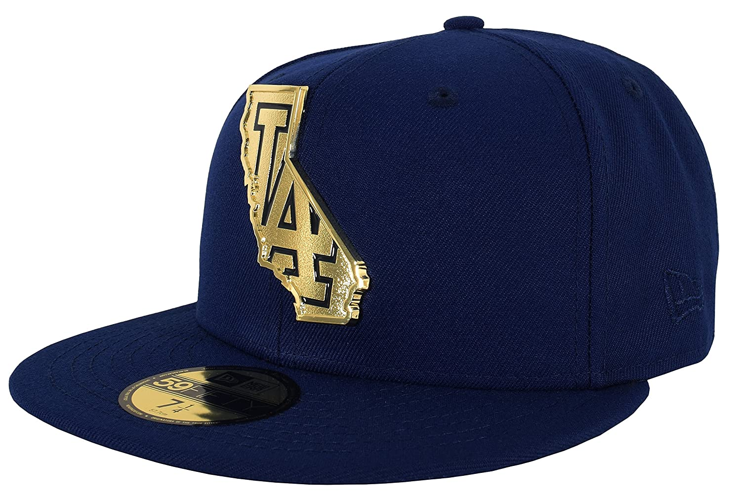 new arrival e6f95 14f6d Amazon.com   New Era 59Fifty Gold Stated Fitted Cap   Sports   Outdoors