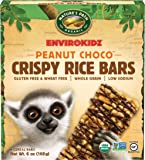 EnvirokidzOrganic Gluten-Free Crispy Rice Bars, Lemur Peanut Choco Drizzle, 6 Ounce (Pack of 6)