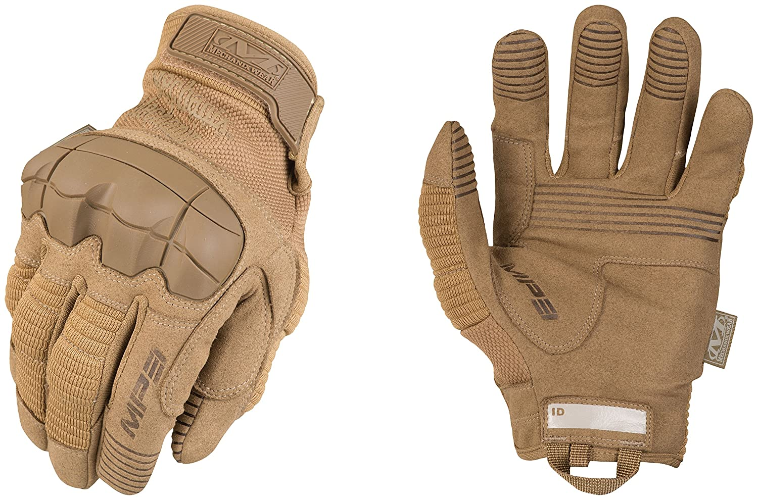 Mechanix Wear M-Pact 3 Coyote Gloves Small, Brown