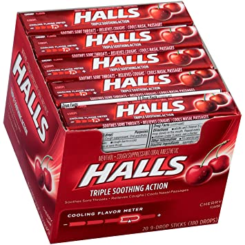 HALLS Cough Drops - Best menthol cough drops
