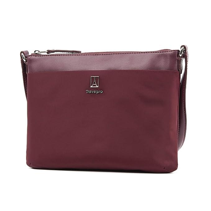 Travelpro Luggage Platinum Elite Women's Crossbody Bag by Travelpro