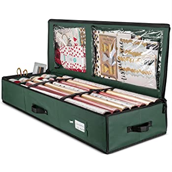 Zober Premium Wrapping Paper Organizer