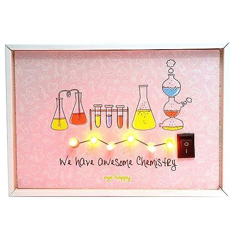 Amazon.com: Oye Happy Awesome química romántico y ...