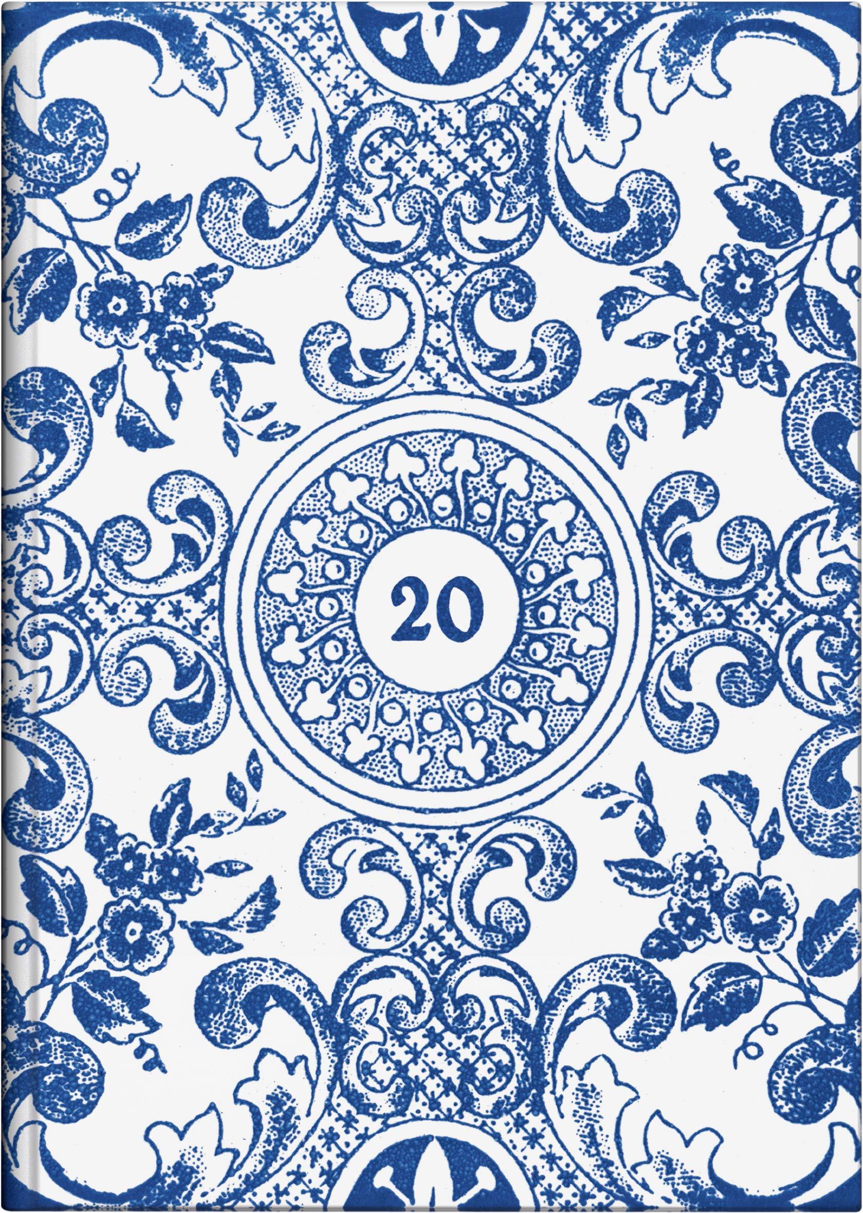 BRUNNEN 107951501 Buchkalender Modell 795  1 Seite = 1 Tag 145 X 206 Cm Grafik Einband Summertime Kalendarium 20200