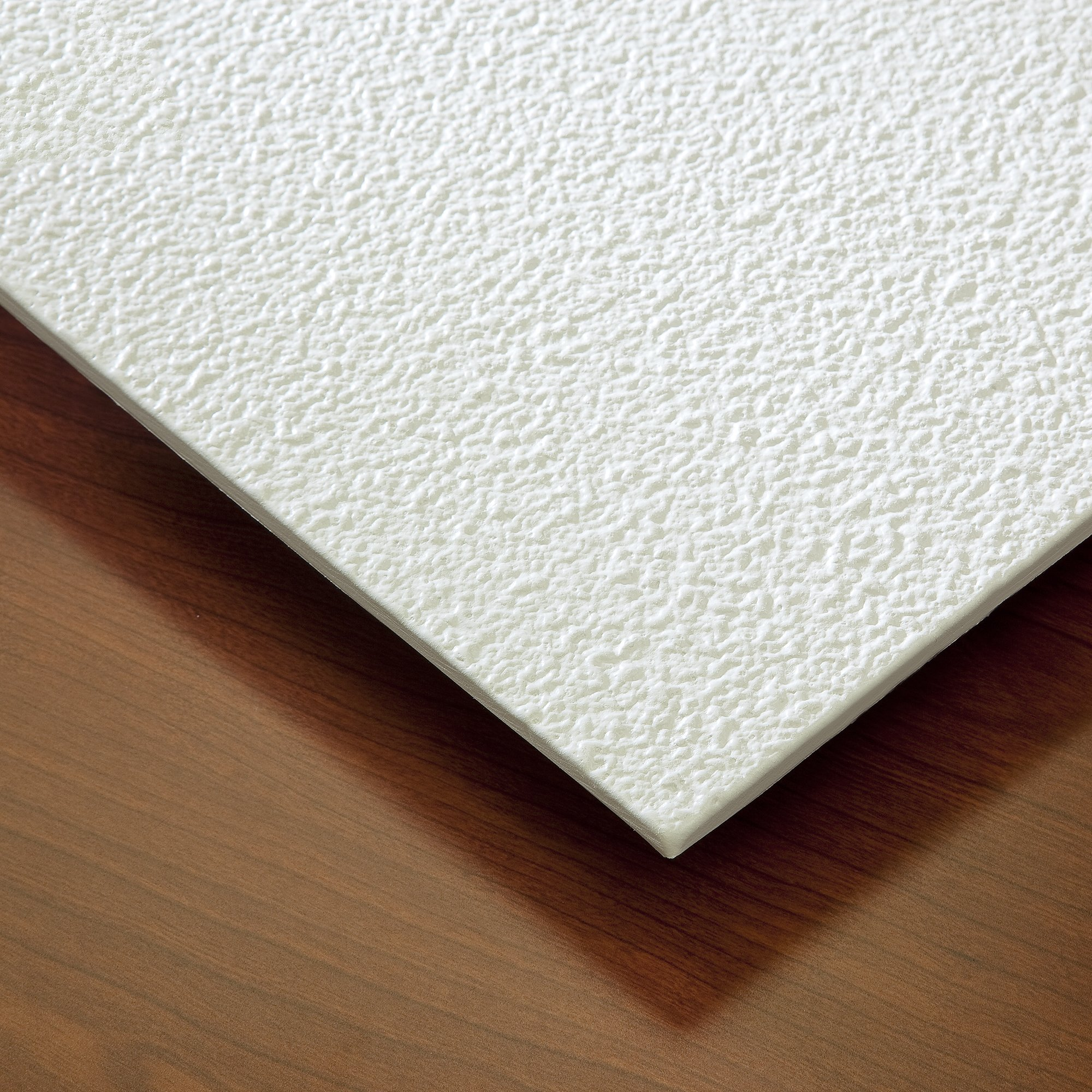 Genesis Easy Installation Stucco Pro Lay-In White Ceiling Tile/Ceiling Panel, Carton of 12 (2' x 2' Tile) by Genesis (Image #5)