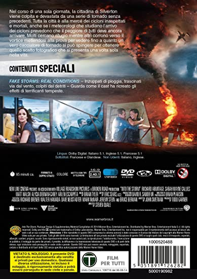 Into the Storm [Italia] [DVD]: Amazon.es: vari: Cine y Series TV