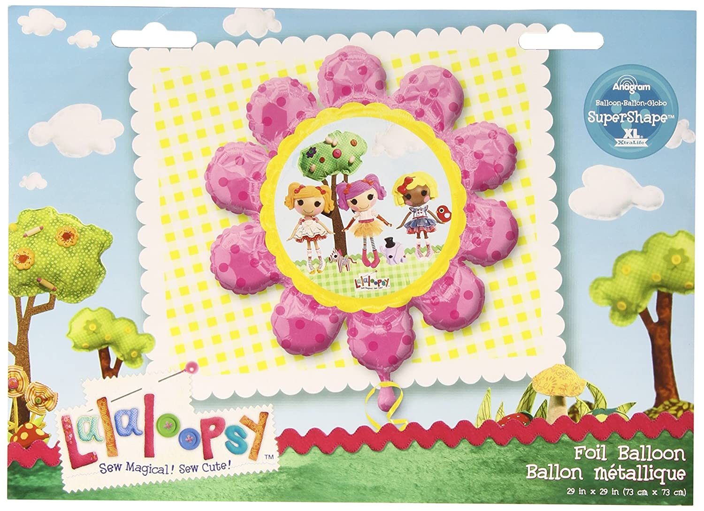 Anagram International 2622001 Lalaloopsy Flower Balloon Pack 29 29