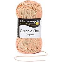 Schachenmayr Catania Fine 9807300 Handstrickgarn, Häkelgarn, Baumwolle