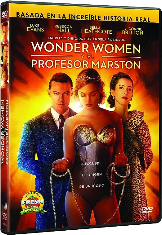 Professor Marston The Wonder Women Wonder Women Y El Profesor Marston Spain Import See Details For Languages Amazon Co Uk Bella Heastcore Luke Evans Angela Robinson Dvd Blu Ray