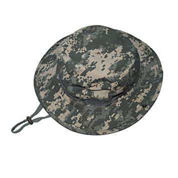 6a104c21aa2 Camo Boonie Bucket Hats ACU Military Army under armour Sun Hat for Hiking Fishing  Cap Outdoor Activity