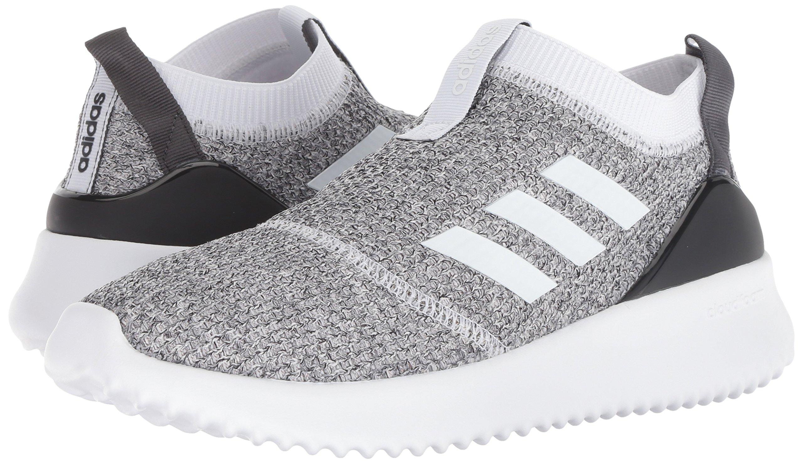 adidas Women's Ultimafusion Running Shoe, White/White/Black, 8 M US by adidas (Image #5)
