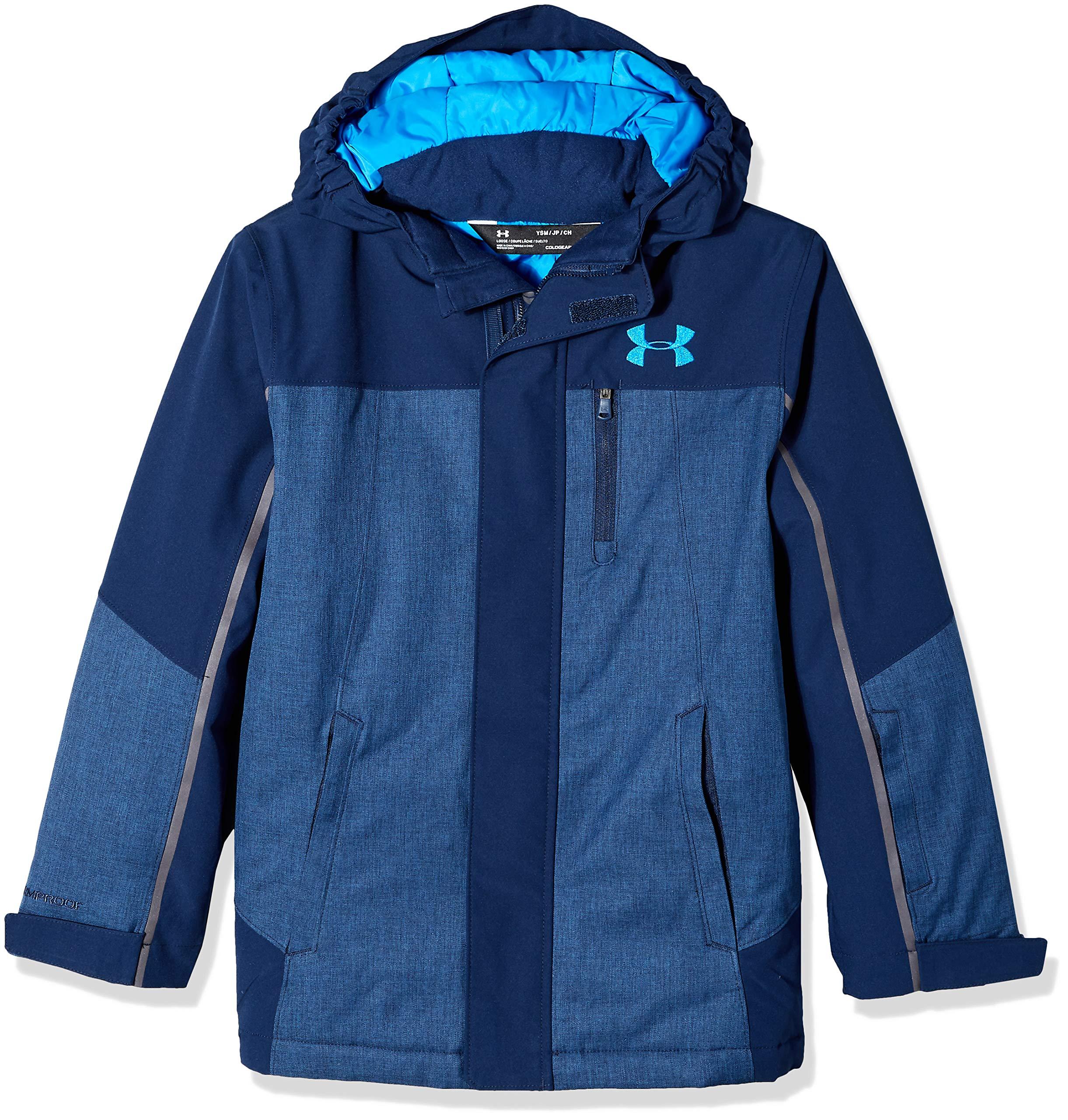 Under Armour Boys' Big Castlerock Jacket, Academy Small (8)