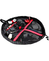 Lay-n-Go Wired Accents Bag, Black/Red