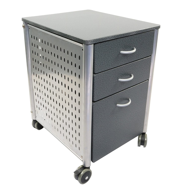 Amazon.com: Innovex Mobile Filing Cabinet, Grante: Kitchen & Dining