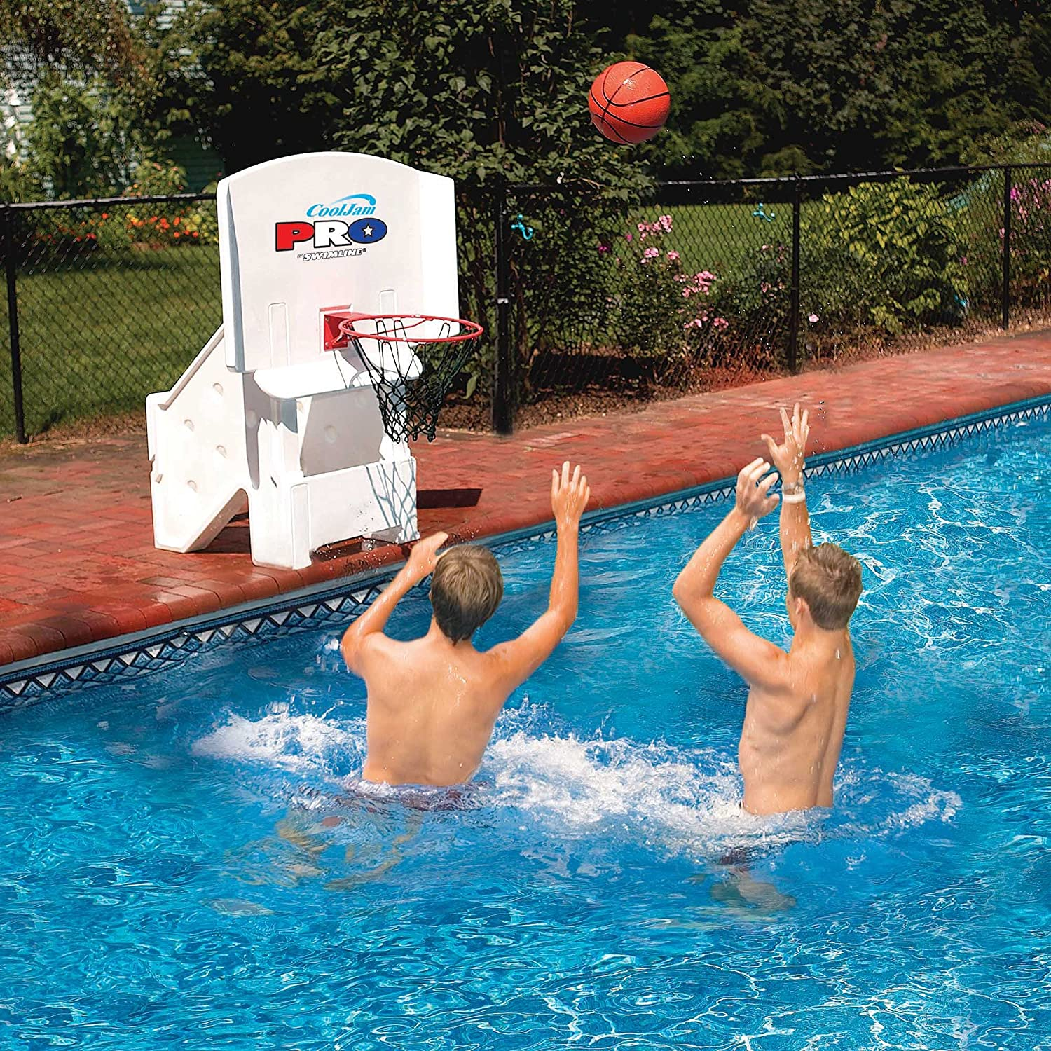 Swimline Cool Jam Pro Poolside Basketball Game Pool Toy 9195