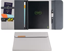 Rocketbook Capsule 2.0 Folio Cover for Core, Panda and Fusion - 100% Recyclable Cover with Pen Holder, Magnetic Clasp & Inner