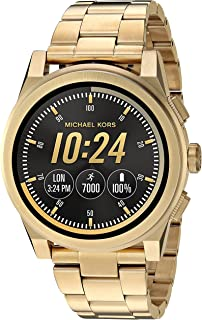 c75276eb4806 Michael Kors Men s Goldtone Grayson Smartwatch