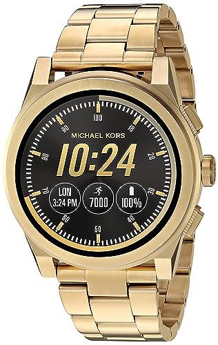 Michael Kors Reloj Hombre de Digital con Correa en Acero Inoxidable MKT5026: Amazon.es: Relojes