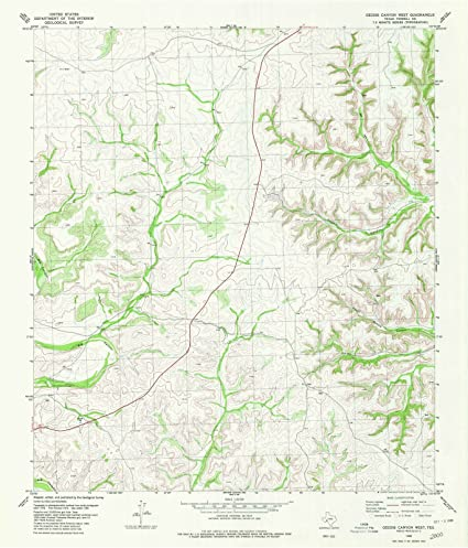 Amazon.com: Historic Map | Geddis Canyon West, Texas (TX ... on map of western texas, map of western north carolina counties, map of west texas midland, map of west new mexico, map of karnes county kenedy texas, map of west mesa, map of west richardson tx, map with all of texas, map of west south dakota, map of west texas waco, map of west seattle, map of west las vegas, map of west tennessee tn, map of west texas towns,