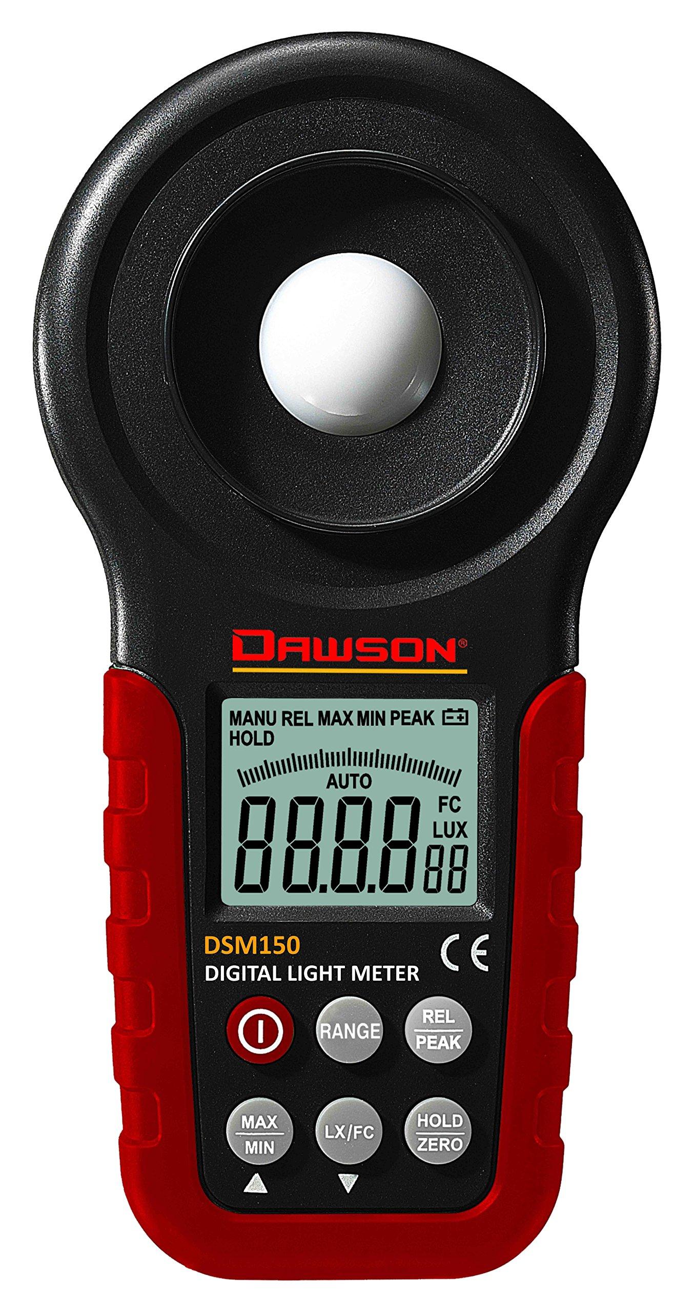 Dawson Tools DSM150 Digital Light Meter Photometer by Dawson Tools