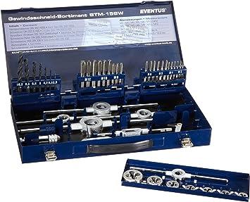 Eventus by Exact 10722 - Estuche con herramientas para roscado (44 piezas): Amazon.es: Bricolaje y herramientas
