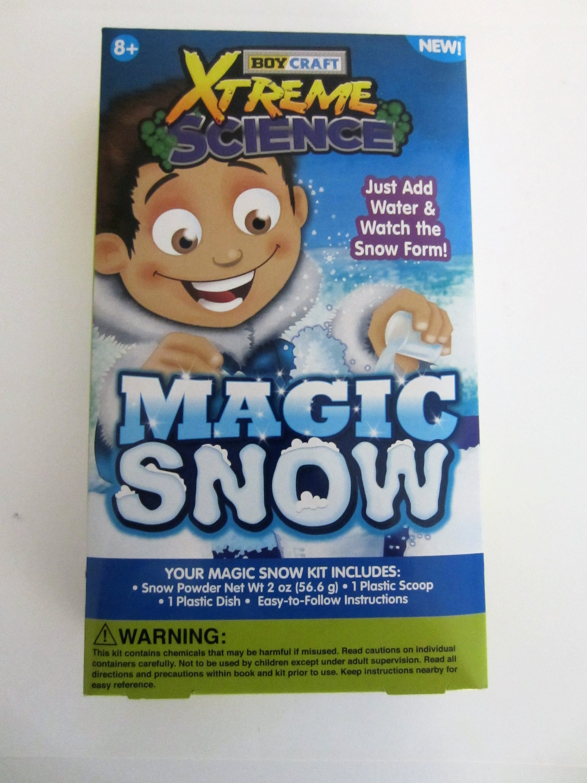 Boy Craft Xtreme Science Magic Snow