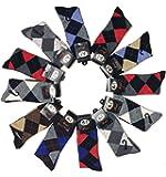 L&M Mens Cotton Dress Socks (12 Pack)