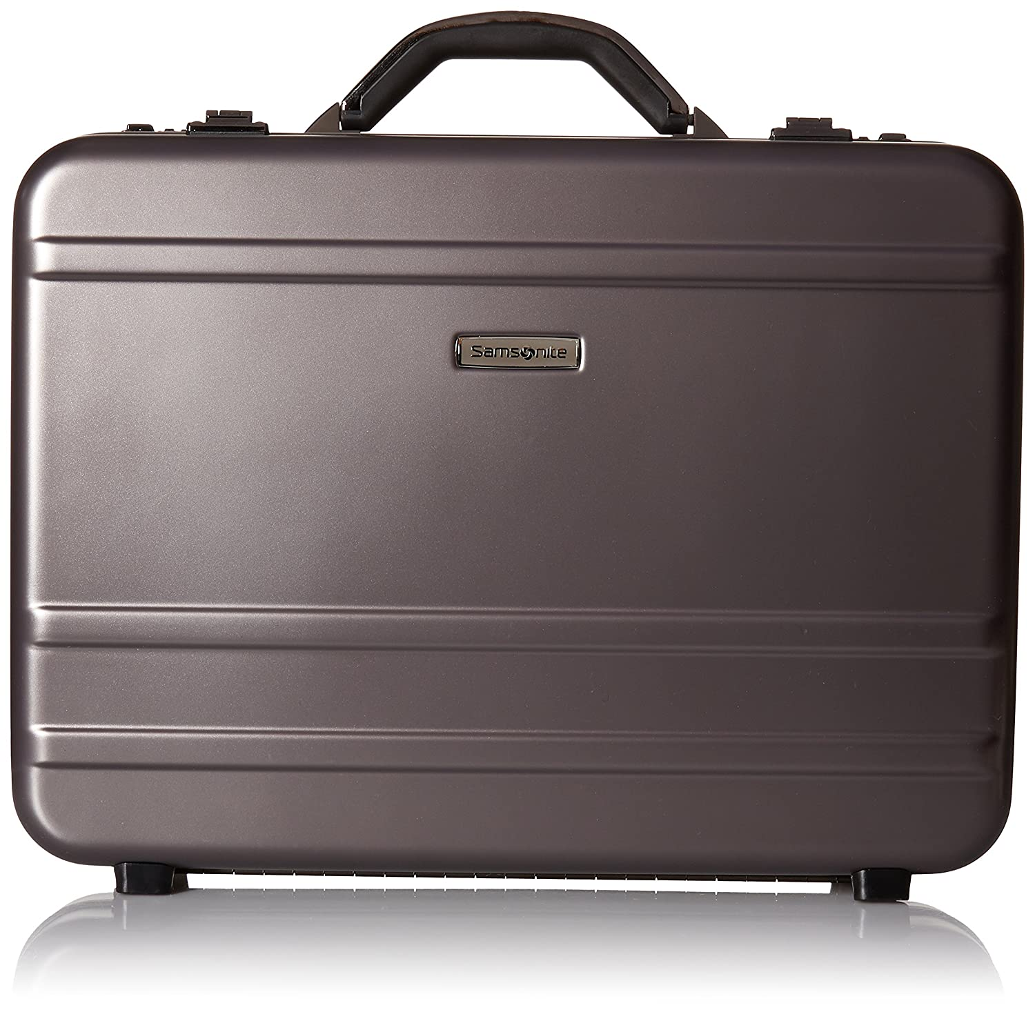 0e9b5e2bf6 Amazon.com | Samsonite Delegate 3.1 Hardside Attache, Gun Metal | Briefcases