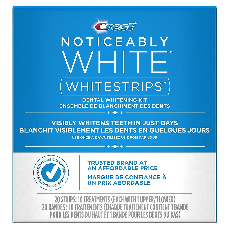 Crest 3D White Whitestrips Classic Vivid Treatments/Whitestrips Noticeably White Treatments Procter and Gamble