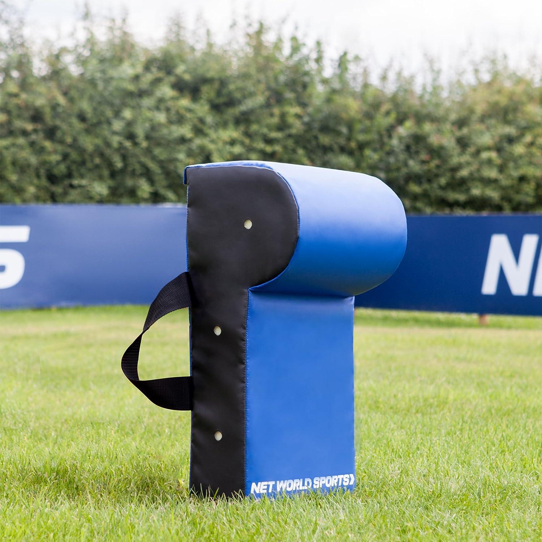 Net World Sports Wedged Football Tackle Shield Pro Model Weatherproof PVC 3 Sizes