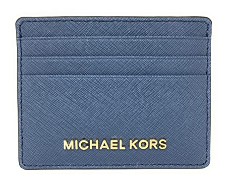 7eaf8dbcc96 Amazon.com  Michael Kors Jet Set Travel Large Saffiano Leather Card ...