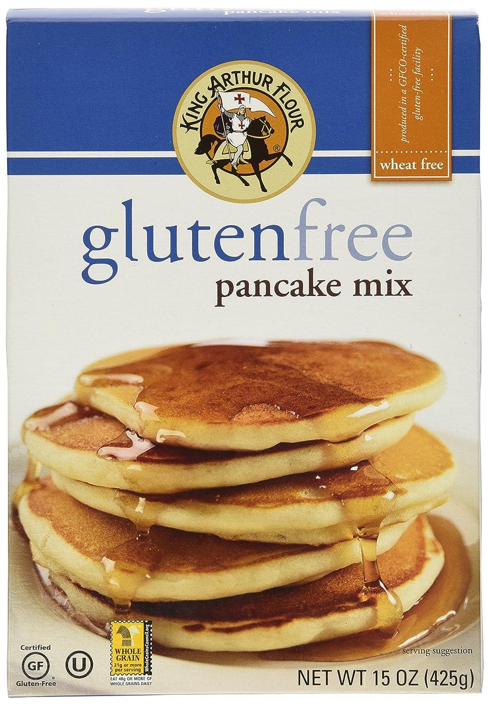 King Arthur - Mezcla de pancake, sin gluten, 15.98 oz ...