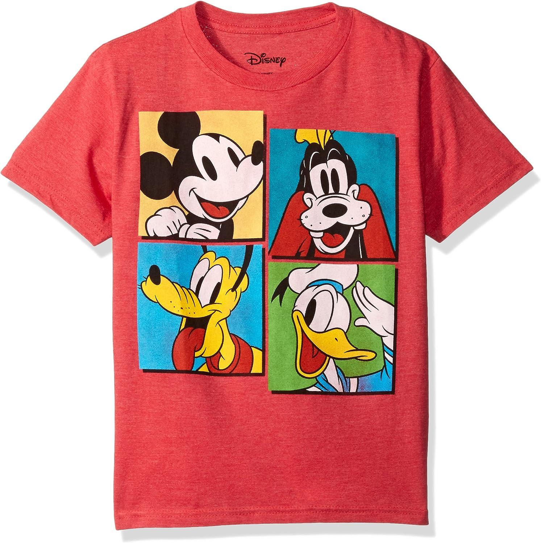 Donald Duck and Goofy T-Shirt Disney Big Boys Mickey Mouse