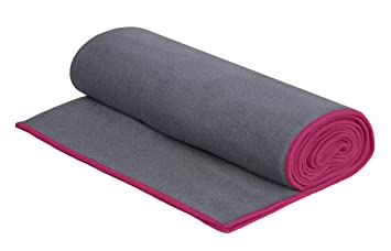 DG SPORTS Yoga Towel-Microfiber Hot Yoga Towel, Made with The Best Microfiber- Protect Your Yoga Mat- Bikram Yoga, Ashtanga Yoga and General Fitness - ...