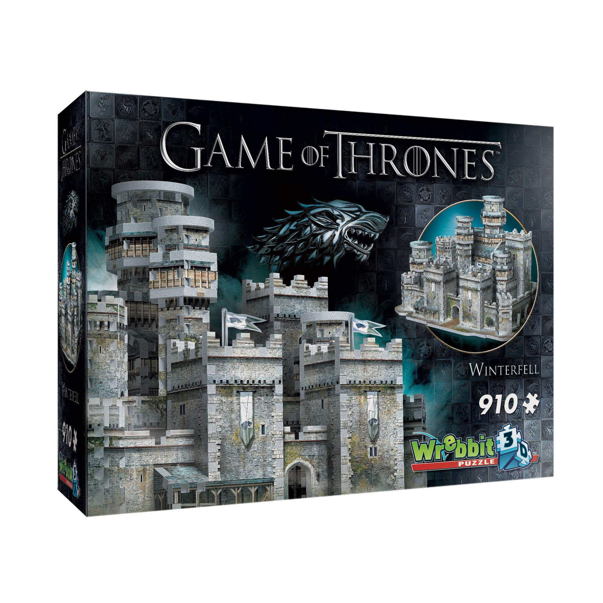 Wrebbit 3D - Game of Thrones Winterfell 3D Jigsaw Puzzle - 910Piece by WREBBIT 3D