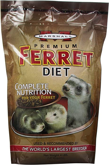 Top 10 Marchalls Ferret Food