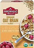 Arrowhead Mills Organic Cereal, Oat Bran Flakes, 12 oz. (Pack of 12)
