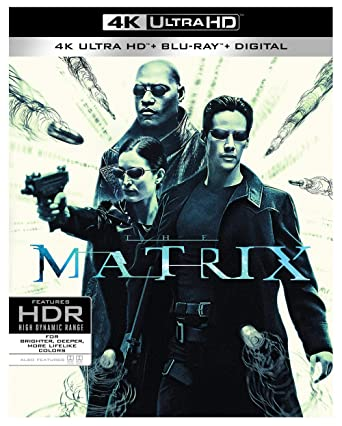 Amazon com: The Matrix (4K Ultra HD/BD) (4K Ultra HD) [Blu